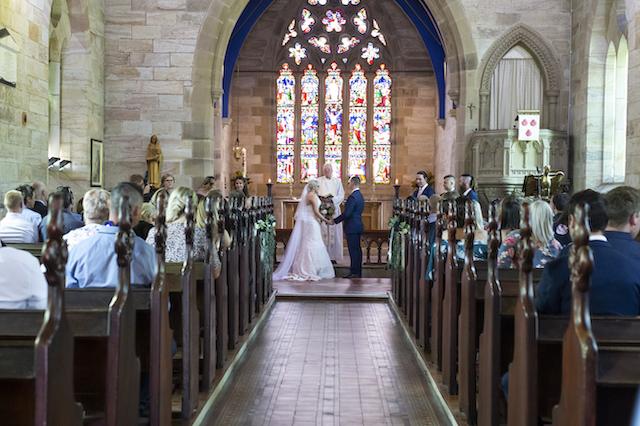 St James' Morpeth Wedding